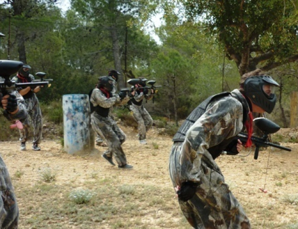 Paintball Macastre 15€ 200 Bolas.